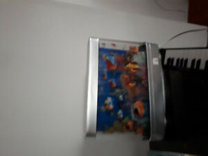 Kids light up artificial mobile fish tank