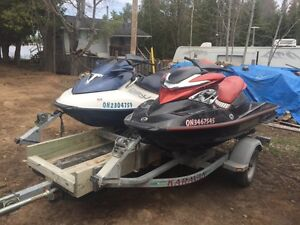 2006 RXP 215 and 2005 GTX155 with trailer