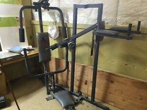 Weider 8530 Home Gym Weights and Cables all here