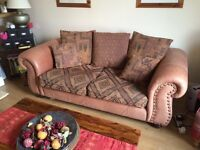 Thomas Lloyd Leather sofa