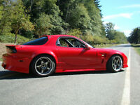 1995 Mazda RX-7 Coupe Single Turbo WIdebody Rx7
