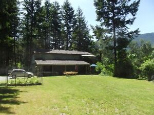Cowichan Riverfront Home and Acreage