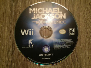 Michael Jackson Wii dance game