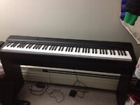 CASIO PX-135 Digital Piano includes bench and pedal