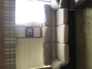 White 3 seat couch for sale