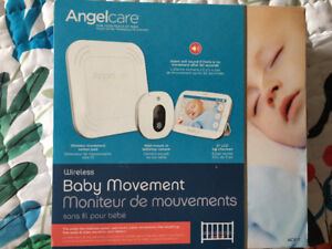 Angelcare baby monitor  AC417+ movement and heartbeat sensors