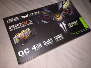 [GRAPHICS CARD / VIDEO CARD] ASUS STRIX GEFORCE GTX 970 4GB