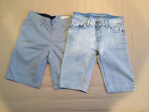 Boys shorts and jeans, size 14