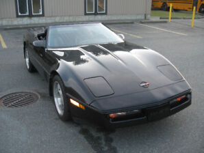 1990 Corvette Triple Black Convertible 77,000 Orig. Miles