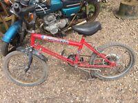 Raleigh grifter retro classic vintage bike bmx like burner