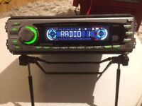 Ripspeed Car Stereo Radio cd Player Head Unit