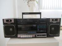 Radio Sony am/fm Cassette Auto Reverse/ Aubain!!!