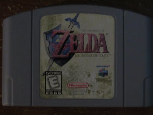 N64 Zelda Ocarina of Time Cart Only
