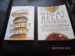 Wheat Belly Hard Cover and Soft Cover Recipe Books