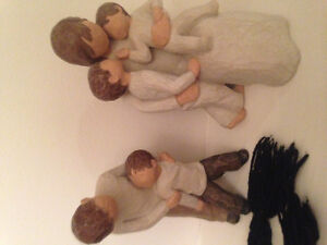 WILLOW TREE PEOPLE ORNAMENTS