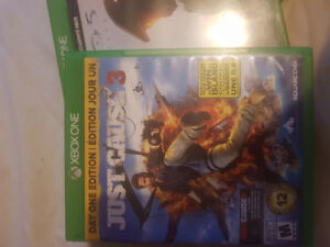 Just Cause 3, Halo 5 and Titanfall 2 For Sale