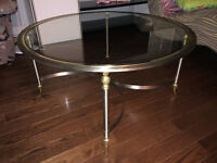 Maison Jansen Vintage Coffee Table & Matching End Table