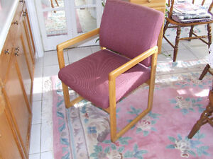 Nice Quality Wood & Material Chairs London Ontario image 2