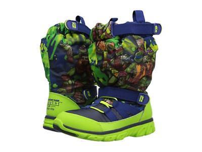 Stride Rite Teenage Mutant Ninja Turtles Sneaker Boots NWOB Toddler Sz 4-5.5