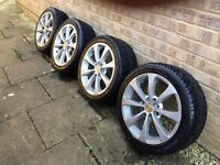 16'' Alloy Wheels with locking nuts