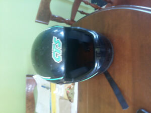 Motorcycle helment size large  for man