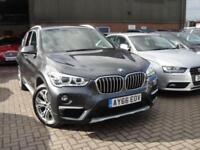 2016 66 BMW X1 2.0 XDRIVE18D XLINE 5D AUTO 148 BHP DIESEL