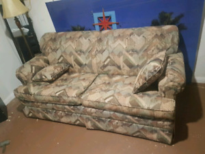 Pull out love seat