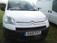 Citroen Berlingo 3 Front Seats, Side loading door FSH Bennett Van Sales Ormskirk