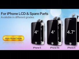 Iphone lcd screen black/white