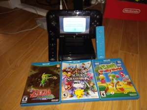 Wii U Pro 32 GB + Games + External HD 150$ OBO