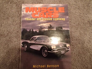 MUSCLE CARS Thunder and Greased Lightning by Michael Benson 1996 Sarnia Sarnia Area image 1
