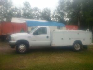 2002 Ford F450 Service Truck