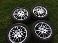 Ford alloy wheels with 4 X 195/50R15 tyres