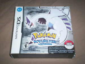 POKEMON SOULSILVER CIB with POKEWALKER - RARE BEAUTY