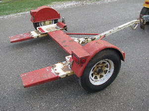 Tow Dolly with Surge Brakes Heavy duty factory made all metal