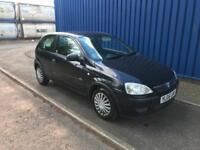 Vauxhall Corsa 1.0i 12v 2005/05 Life, only 73000 miles,cheap insurance,great mpg