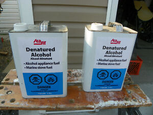 Alcohol for stove