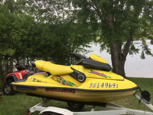 97 xp 800 with 2011 seadoo trailer