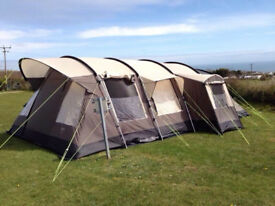 Royal Athems 6 man tent +equipment