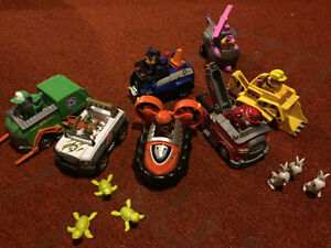 Paw Patrol Pups with Vehicles