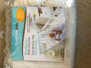 Mesh Crib Liners: Breathable Baby
