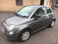 5909 Fiat 500 1.2 POP 1.2 Grey 3 Door 71768mls MOT 12m