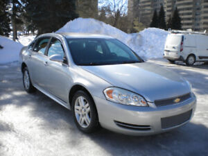 2012 Impala LS (1 owner car from Montreal)