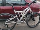 Muddyfox full suspension bike