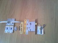 New Door Lock 3 Lever Mortice 65mm and New Door Handle