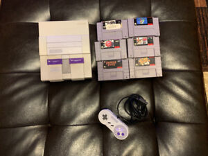 Super Nintendo with 6 Games 1 Control For Sale Or Trades? $150
