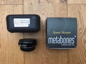 Metabones Speed Booster EF to MFT ULTRA for your XL