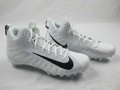 NEW Nike Alpha Menace Pro - White Cleats (Men's 13)