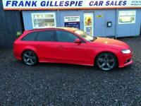 2012 Audi A4 2.0TDI (170ps) 4X4 quattro Dynamik Estate 5d 1968cc Estate DIESEL M