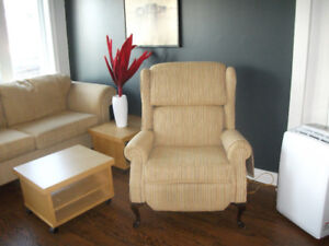 sofa 2 places et une bergère